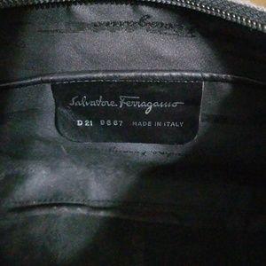Salvatore Ferragamo Bags - Salvatore Ferragamo Gray Plaid Deadstock Bag Used
